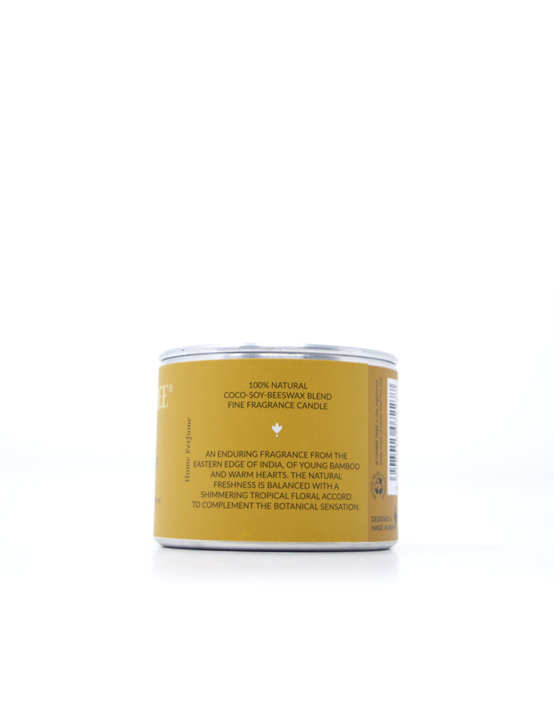 Umbr Tree fine home fragrance candle. Soul of India Collection. Memoirs of Ziro. Jasmine vetiver wild bamboo.Home perfume. Soy wax, Coconut wax, palm wax, bees wax. All natural wax fragrance candles. Scented candles. Bangalore India candles. gift set candles. Fragrance gift set candles. Home perfume candles. Gift set candles. Candle shop. Fine Home Fragrance Shop. Traveller tin Natural air purifier. no additives no dyes no paraffin no petroleum no chemicals no phthalates no parabens no sulfates cruelty free vegan organic ingredients