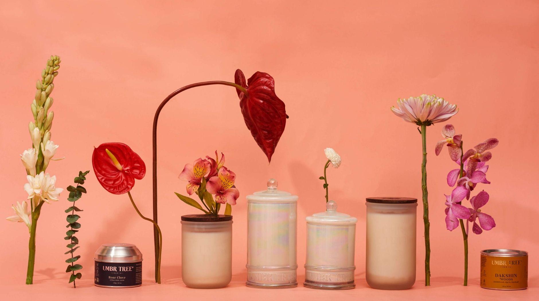 Summer Fragrance Candles