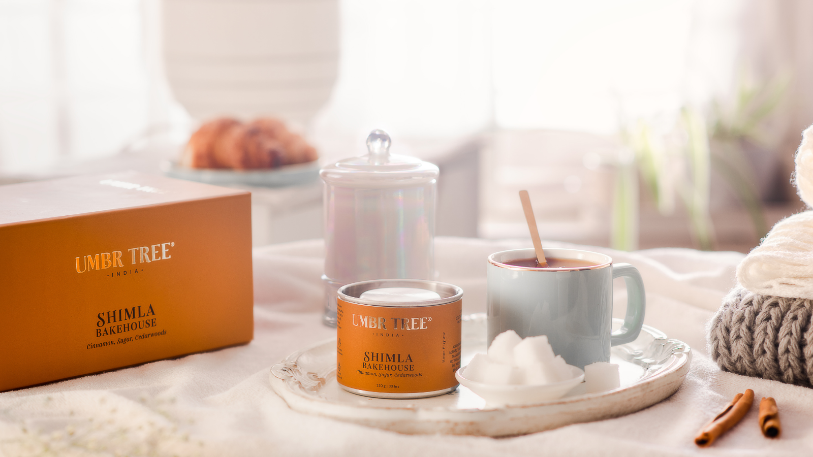 home fragrance candles from Shimla